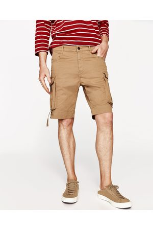 Hombre Bermudas - Zara BERMUDA CARGO - Disponible en más colores