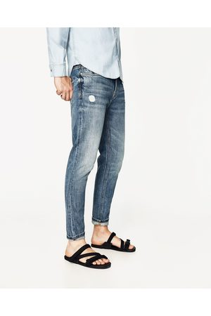 Hombre Jeans - Zara DENIM TAPPERED CROPPED