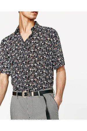 Hombre Camisas - Zara CAMISA FLAMENCOS