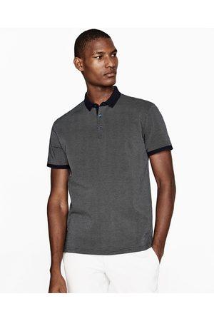 Hombre Polos - Zara POLO JACQUARD - Disponible en más colores