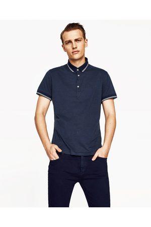 Hombre Polos - Zara POLO JACQUARD TOPOS - Disponible en más colores