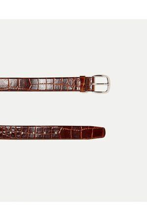 Hombre Cinturones - Zara CINTURÓN VESTIR - Disponible en más colores