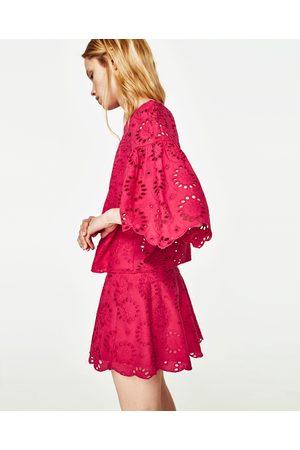 Mujer Camisas - Zara CUERPO MANGA VOLANTE