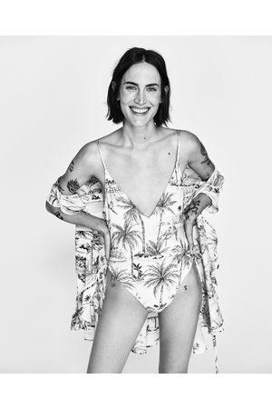 Mujer Trajes de baño completos - Zara BAÑADOR ESTAMPADO