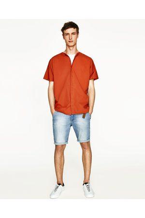 Hombre Bermudas - Zara BERMUDA CHINO DENIM - Disponible en más colores