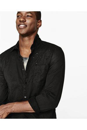 Hombre Camisas - Zara CAMISA LISA DESTROY