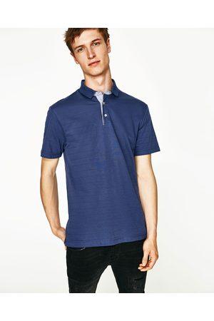 Hombre Polos - Zara POLO RAYA JACQUARD - Disponible en más colores