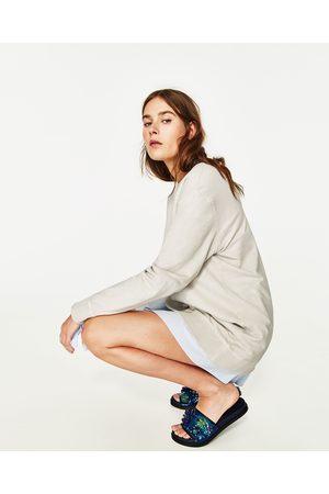 Mujer Zapatos - Zara PALA FLORES