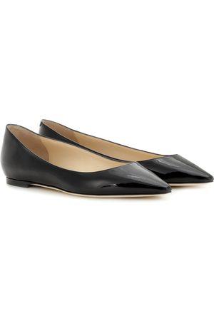Jimmy choo Romy Flat patent leather ballet flats