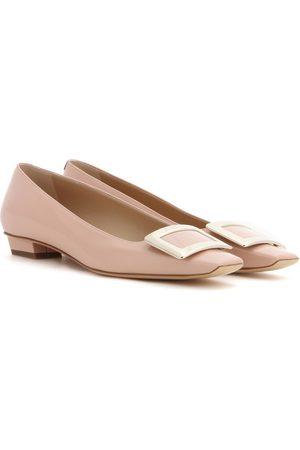 Roger Vivier Mujer Flats - Belle Vivier patent leather ballet flats