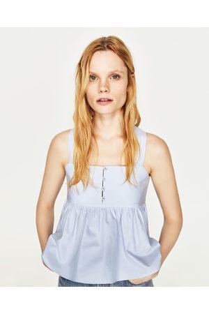 Mujer Camisas y Blusas - Zara CUERPO PERLAS