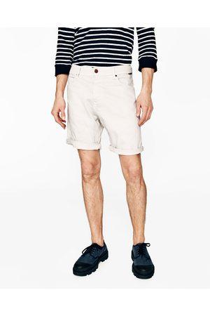 Hombre Bermudas - Zara BERMUDA BULL DENIM - Disponible en más colores