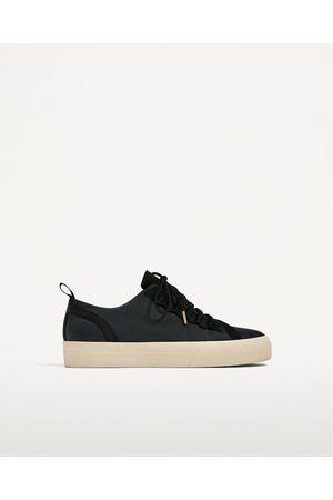 Hombre Zapatos - Zara BAMBA NEGRA TEJIDO