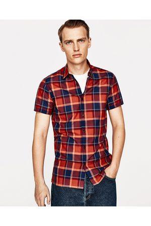 Hombre Camisas - Zara CAMISA CUADROS