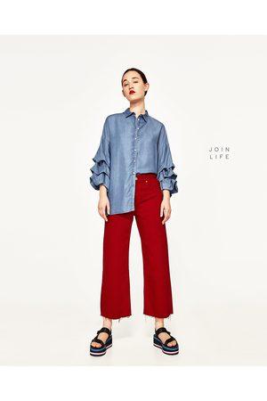 Mujer Camisas - Zara CAMISA MANGA ABULLONADA