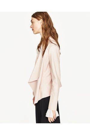 Zara CHAQUETA POLIPIEL - Disponible en más colores