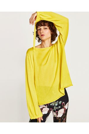 Zara JERSEY MANGA GLOBO - Disponible en más colores
