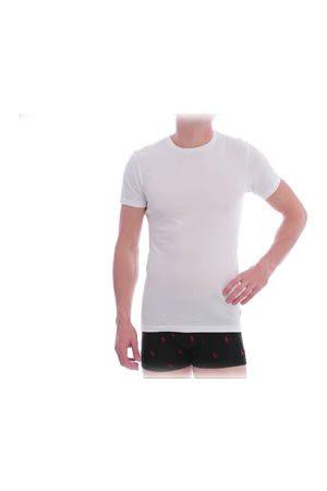 Ralph Lauren Camiseta Cuello Redondo de Algodón Blanca