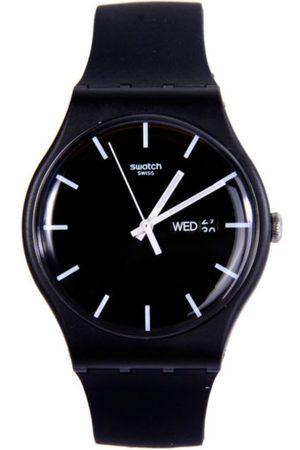 Swatch Mono Black SUOB720 Reloj para Niño Color