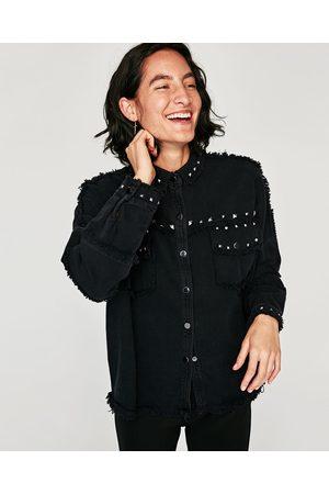 Zara PARKA TACHAS - Disponible en más colores