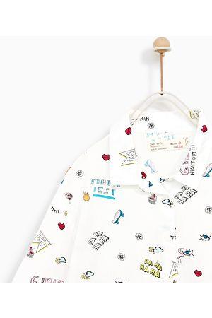 9d0ad4062 Ropa de niña Zara blanca estampada ¡Compara ahora y compra al mejor ...