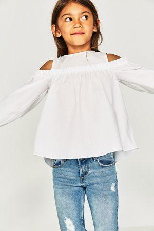 a01f4f109 Camisas Y Blusas de niña Zara camisa blanca ¡Compara ahora y compra ...