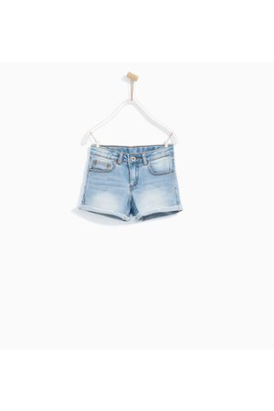 sitio de buena reputación 6dfa7 6f0b3 Shorts de niña Zara moda pantalon mezclilla ¡Compara ahora y ...