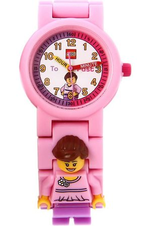 Reloj para niña Lego Time Teacher 9005039 rosa