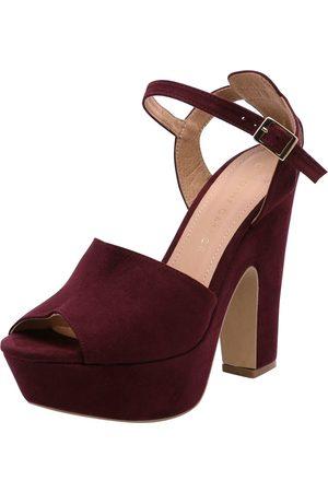 De Ahora ¡compara Rojo Compra Sandalias Tacón Mujer Bajo Color Y b6y7gvfmIY