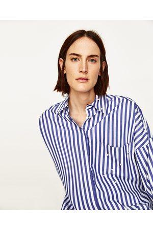 Compra ¡compara Y Mujer Al Ahora Zara Blusas Perlas De Camisas 8f1CRxwqq