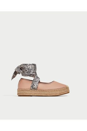 Flats de ahora mujer Zara calzado En línea Compara ahora de y compra al mejor 9b703d