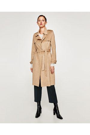 Zara GABARDINA EFECTO ANTE - Disponible en más colores
