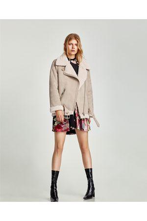 16c60df131b Chamarras De Piel de mujer Zara moda online ¡Compara ahora y compra ...