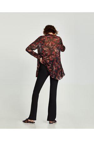 Zara PANTALÓN FLARE FLUIDO - Disponible en más colores