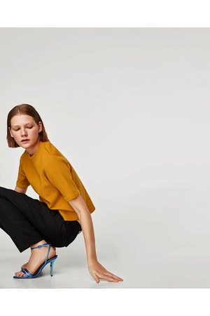 Zara JERSEY MANGA CORTA - Disponible en más colores