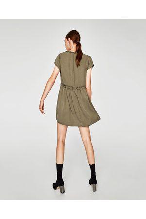 Zara VESTIDO MINI VOLANTES - Disponible en más colores