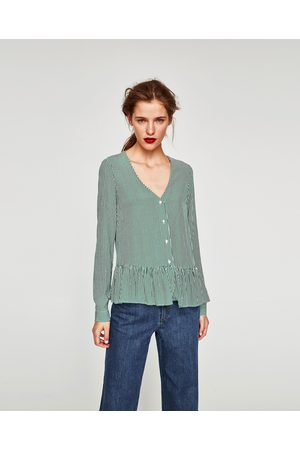 Zara CUERPO PICO VOLANTES - Disponible en más colores