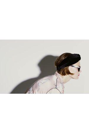Zara Diadema turbante terciopelo