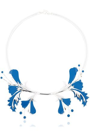 EK THONGPRASERT Collar Con Flores De Metal