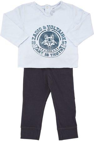 Zadig & Voltaire Pantalones Y Camiseta De Jersey De Algodón