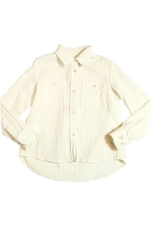 American Outfitters Camisa De Gasa De Algodón