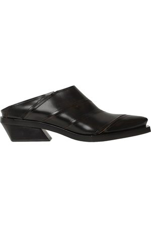 Proenza Schouler Zapatos Mules De Piel 30mm