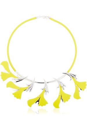 EK THONGPRASERT Collar Con Flores De Silicona