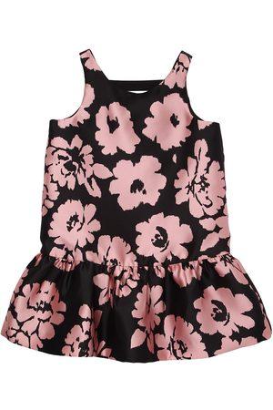 Milly Vestido De Fiesta De Sarga Con Estampado Floral