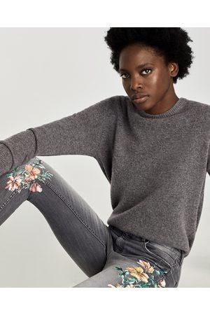 Al De Compra Ahora Zara Flores Jeans Y ¡compara Mujer Pantalones AZEUwzqz
