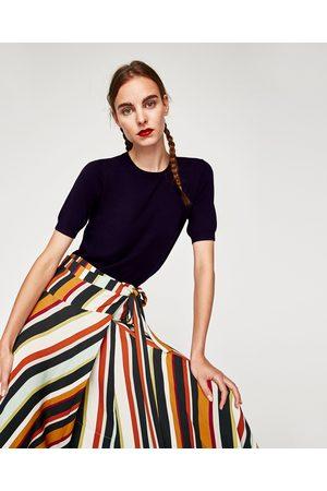 Zara TOP MANGA CORTA - Disponible en más colores