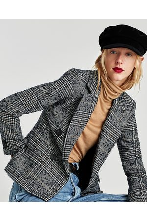 Zara abrigo mujer cuadros