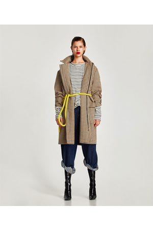 Zara CAMISETA MANGA LARGA DETALLE CUELLO - Disponible en más colores