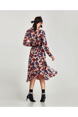 Compra Midi Mejor Flores Ahora Y Mujer De Zara Al Vestidos ¡compara 8vxd6w8