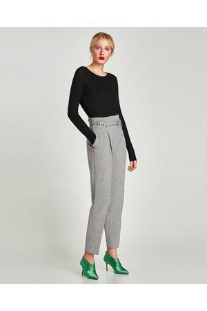Alto ¡compara Al Tiro Ahora De Zara Compra Pantalones Mujer Ropa Y ARq54L3j